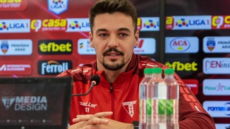 """Petre nu are COVID, absența lui s-a simțit în remiza albă cu Botoșaniul: """"Era titular, dar nu am riscat în contextul ultimelor evenimente de la echipă"""""""