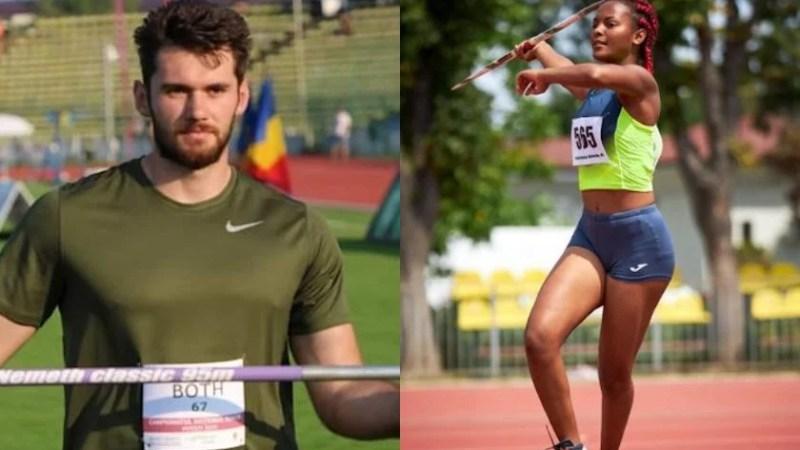 """Sulițașii Both și Oriaku duc Aradul pe podiumul """"naționalelor"""" de aruncări lungi de iarnă"""