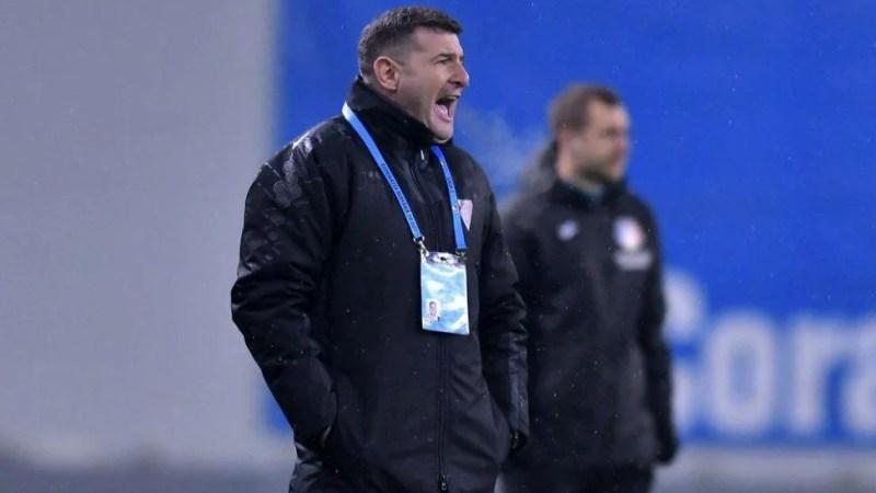 """Balint s-a aprins puțin după eșecul de la Craiova și declarațiile elevilor săi: """"Suntem o echipă mare? Să și demonstrăm asta și să ne asumăm cu toții că trebuie să muncim mai mult"""""""