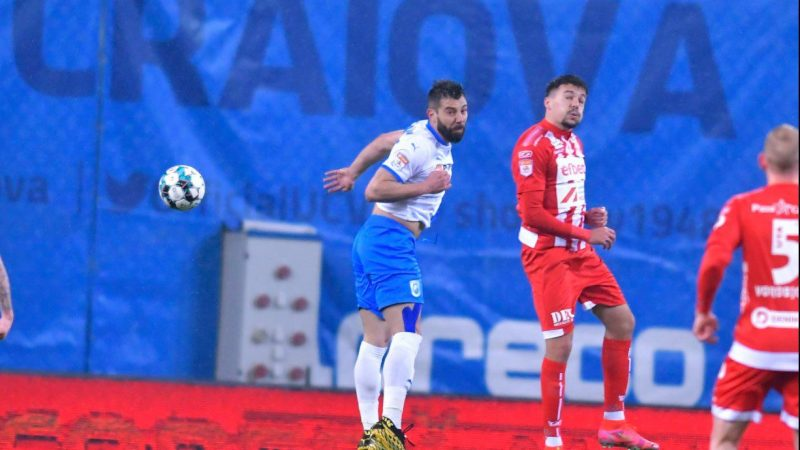 Live-text Liga 1, ora 19: CS Universitatea Craiova – UTA 2-0, final
