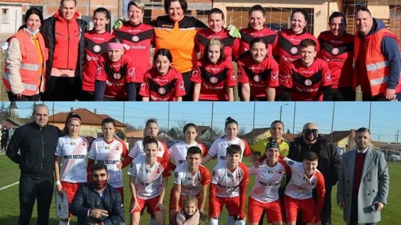 E derby în fotbalul feminin arădean, cu Piroș Security mare favorită să treacă în faza următoare a Cupei României!