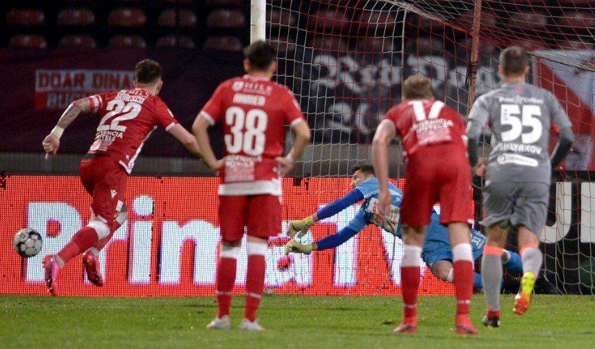 """Balauru a apărat un penalty în Liga I după un deceniu, UTA câștigă în """"Groapă"""": """"Știam că Sorescu va da tare în dreapta mea, presiunea e pe jucătorul care bate"""""""