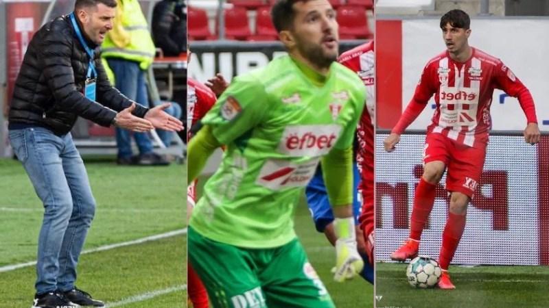Balauru și Miculescu debutează în echipa etapei LPF, Balint se așează pe banca tehnică