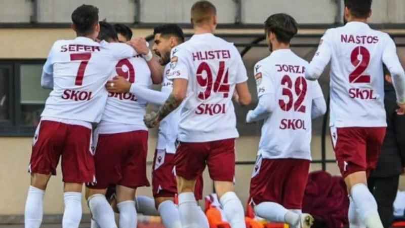 Liga a II-a: Rapidul își ia revanșa cu Csikszereda și ajunge în fruntea clasametului, alături de Craiova