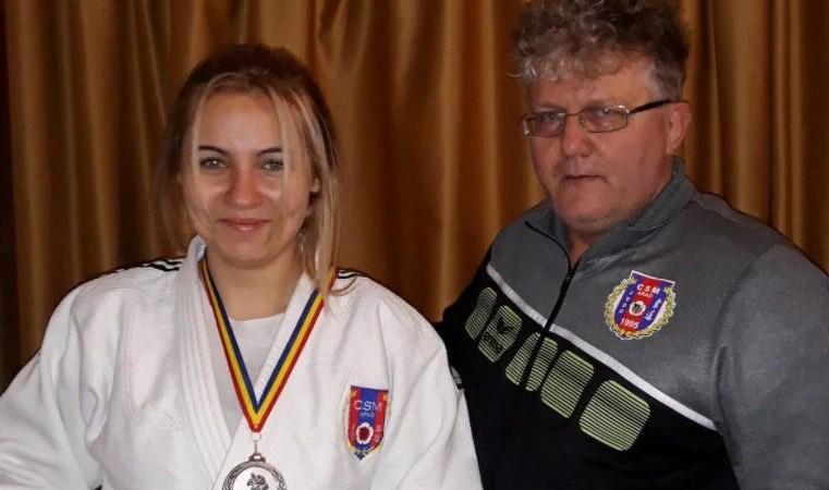 Judoka arădeană Andreea Ciopraga, vicecampioană naţională de tineret