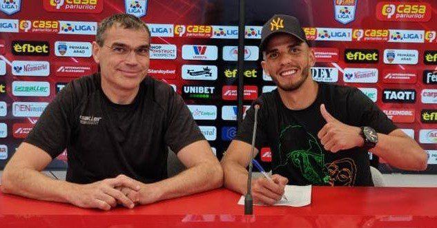 Erico da Silva e primul fotbalist care și-a prelungit contractul cu UTA în această vară!
