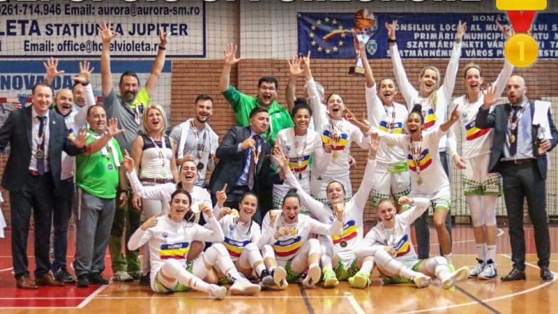 Arădeanca Andra Mandache e campioană națională cu SIC Sfântu Gheorghe, baschetbalistele din Covasna sunt la alt cincilea titlu la rând!