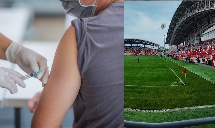 "Campanie de vaccinare pe arena ""Francisc Neuman"""