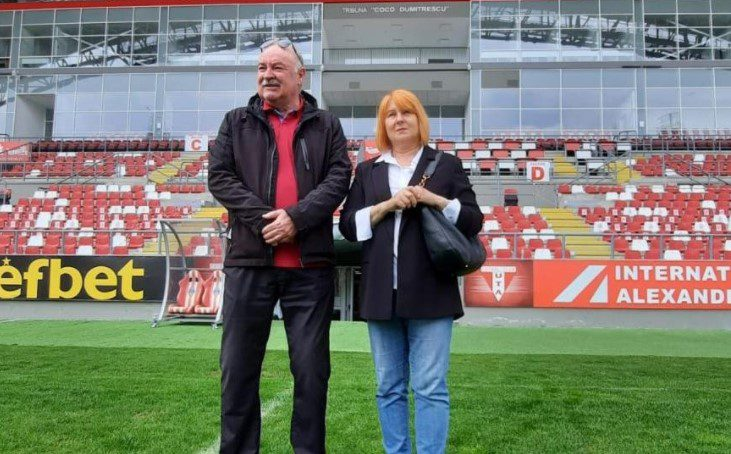 "Tribuna I a arenei ""Francisc Neuman"" a primit oficial numele lui Nicolae Dumitrescu"