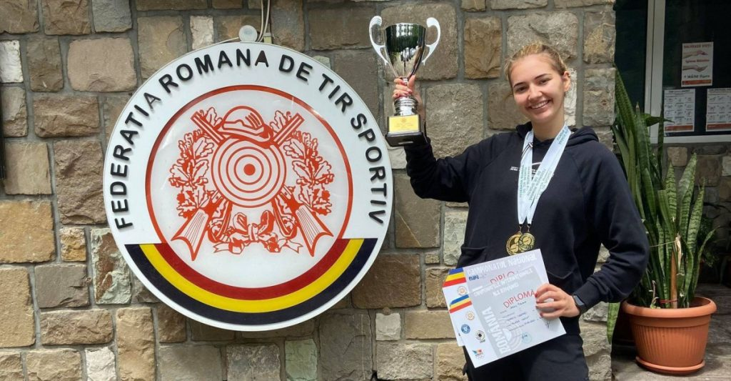 Talerista Briana Vărcuş, prima la junioare cu record personal la Trofeul Carpaţi