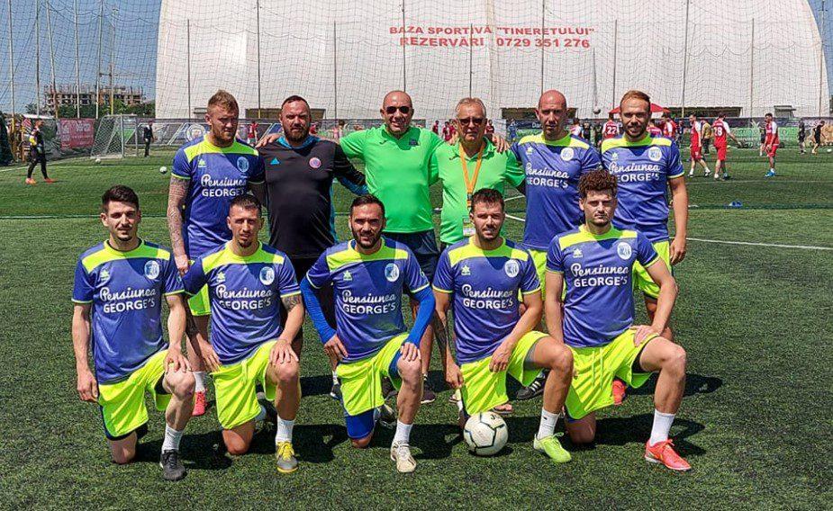 Luciano și Premiere merg braț la braț în optimile Supercupei României la minifotbal!