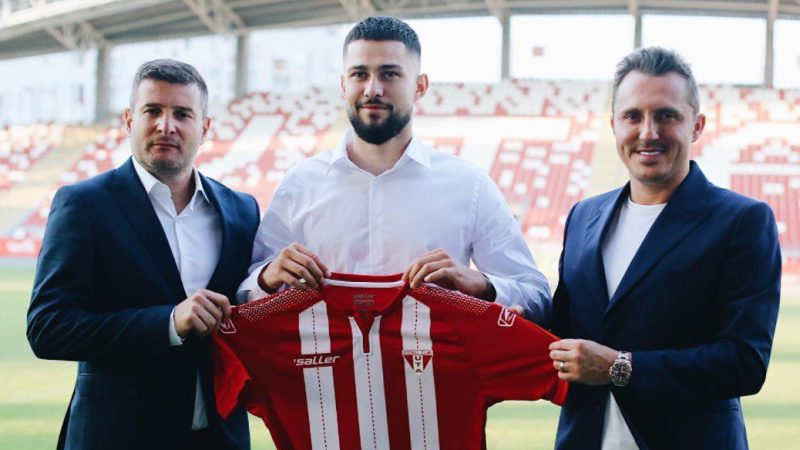 """Căpitanul Ripensiei, Tudor Călin, e convins că se poate impune și la UTA: """"Știu ceea ce pot, iar Liga 1 mă motivează suplimentar"""""""