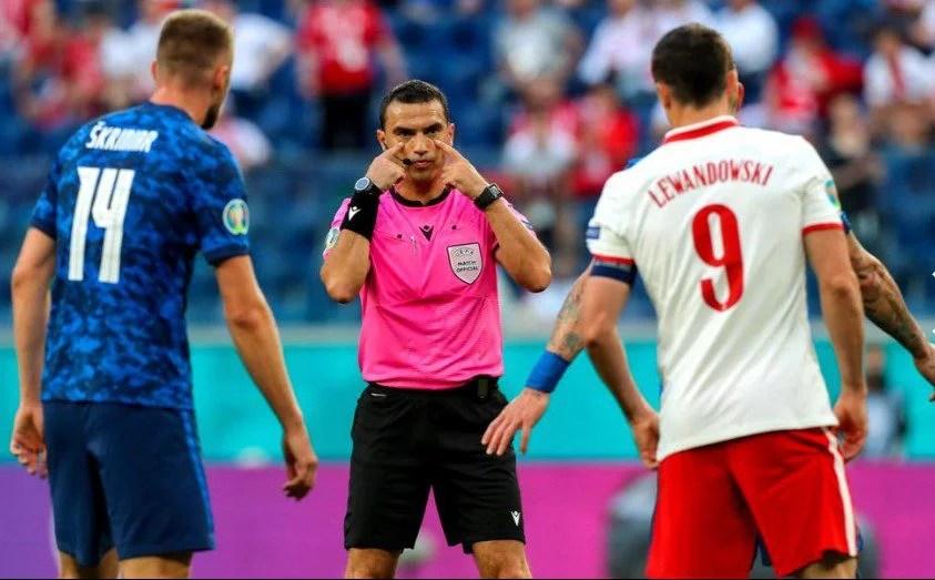 Hațegan, la al 5-lea meci de la Euro: Arădeanul e rezervă în semifinala Anglia – Danemarca