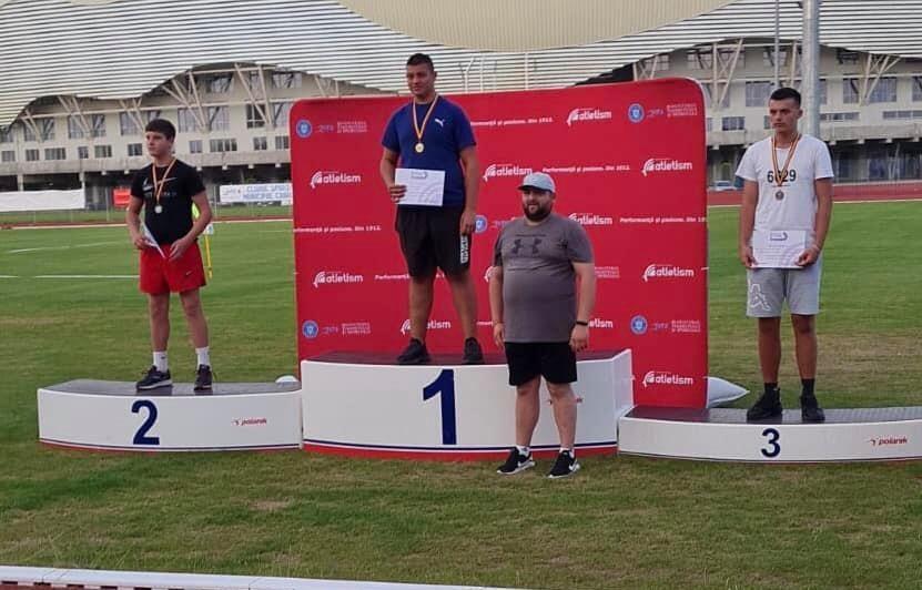 CN de atletism U16: Motorca e campion național la aruncarea discului, Matus a luat bronzul la săritura în lungime