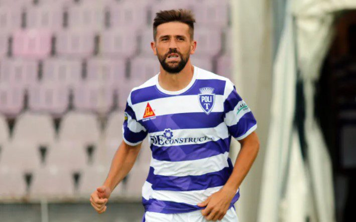 Ex. polistul Nicolescu a debutat cu gol pentru Lipova, care a evitat în ultimul minut eșecul din amicalul cu Lotus Băile Felix