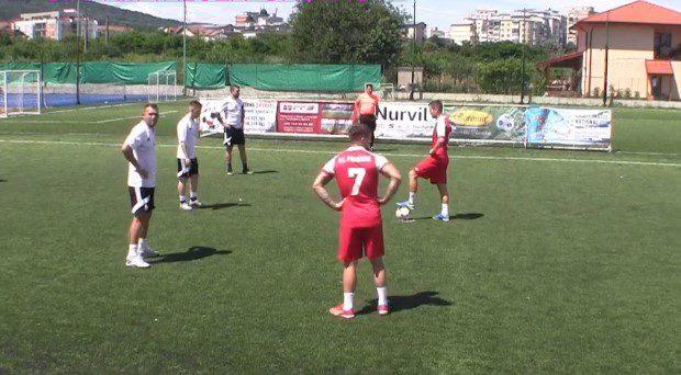 Premiere și Luciano au pașit cu stângul la naționalele de minifotbal, de la Râmnicu Vâlcea