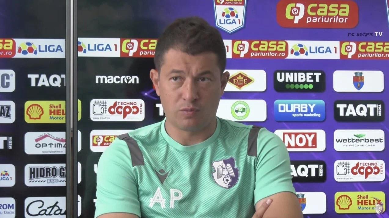 """Prestația din Bănie le dă curaj piteștenilor pentru meciul cu UTA! Prepeliță: """"Echipa a arătat bine, trebuie să fim mai atenți la finalizare"""""""