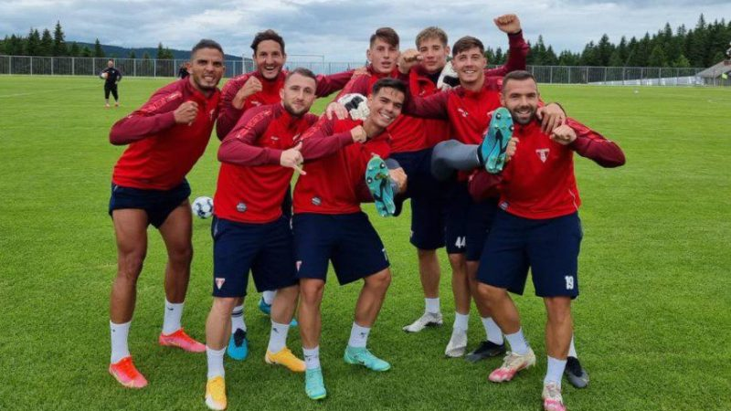 Albanezul Batha decide al doilea amical al arădenilor în Slovenia: UTA – NK Aluminij 2-1