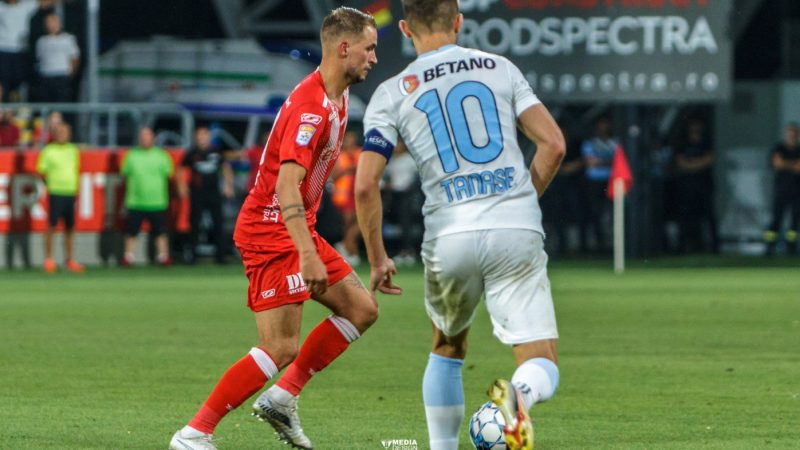 """După """"assistul"""" de la Pitești, a venit și prima reușită în Liga 1 pentru Ubbink: """"Sentiment frumos, dar sunt dezamăgit de rezultat"""""""