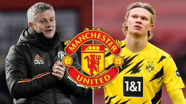 Ole Gunnar Solskjaer 'Keeps Calling' Erling Haaland Over Manchester United Transfer