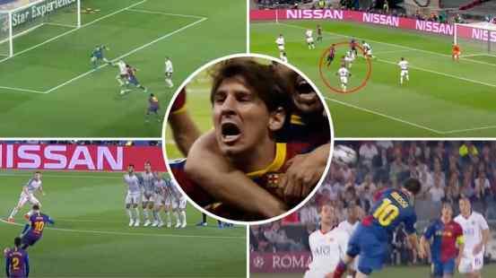 Lionel Messi Comp against England's biggest clubs proves he would destroy the Premier League
