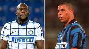 Romelu Lukaku beat Ronaldo's Inter Milan in 13 goals
