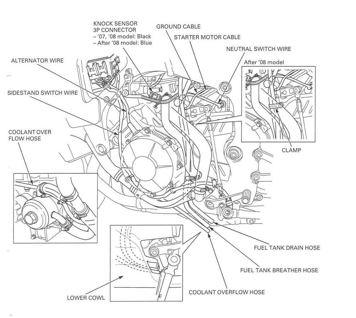Cbr 600 Rr Color Wiring Diagram