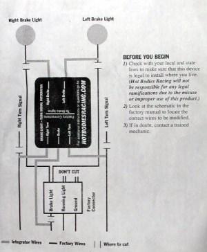 Turn signal eliminator wiring diagram  Sportbikes