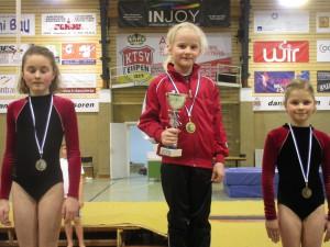 Goldmedaille für Annabelle De Maré beim Gym-Cup