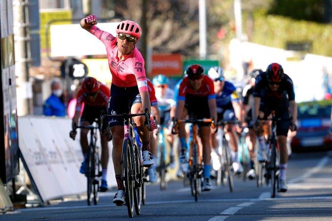 Cyclisme/Paris-Nice - Étape 8 - La der pour Magnus Cort Nielsen et énorme  surprise au classement général | Sport Business Mag