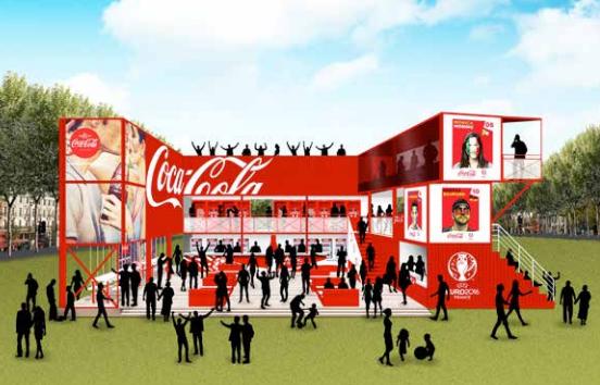 Fan Zone Coca-Cola