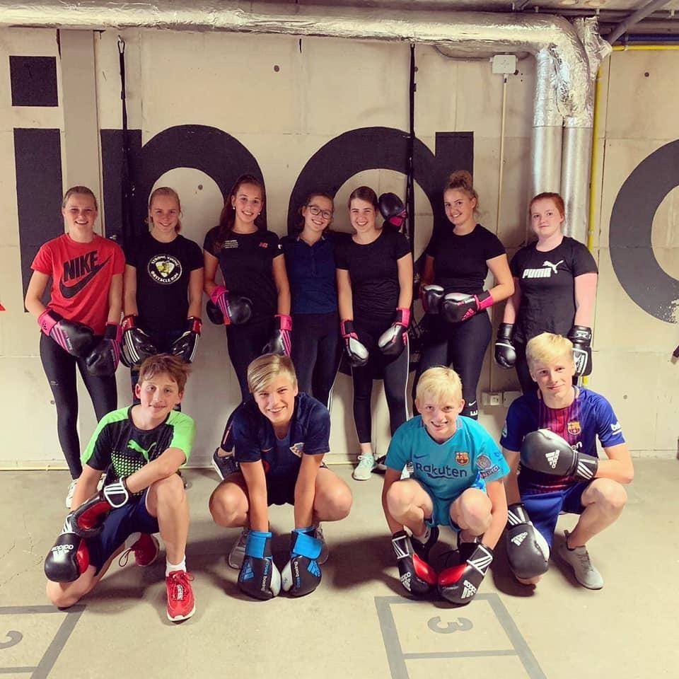 Crossboxing voor kinderen 2019 genomen in SportcenterAllrounf