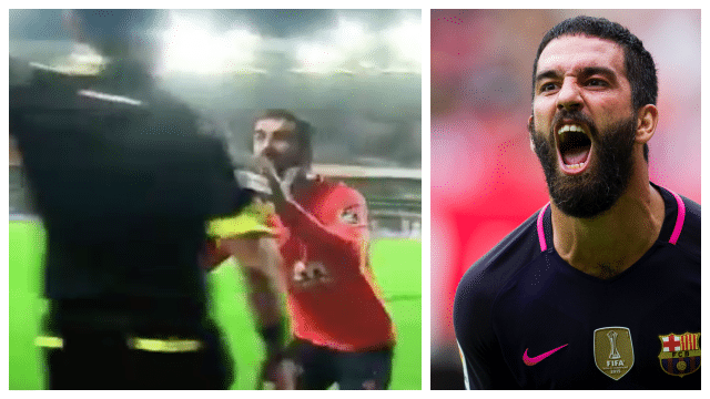Arda Turan banned for 16 matches for pushing the assistant referee