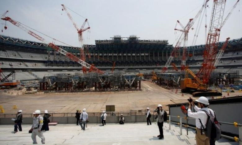 Two venues in Tokyo for the 2020 Olympics affected by construction delays
