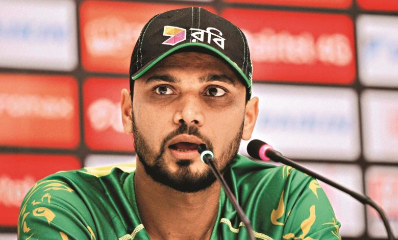 Mashrafe wants to end this year with respect