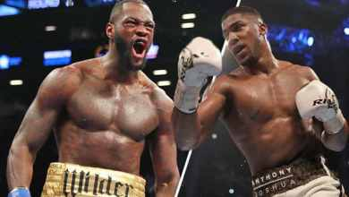 Anthony Joshua is going to face off Deontay Wilder after two months