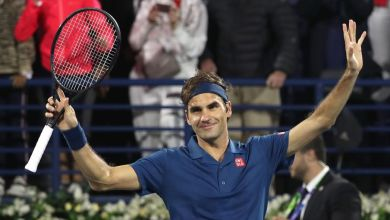 Federer defeats Tsitsipas in Dubai Open Finals and reaches 100th title