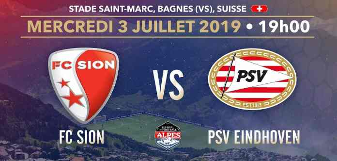 PSV Eindhoven VS. FC Sion: live stream, kick off, preview, predictions and more