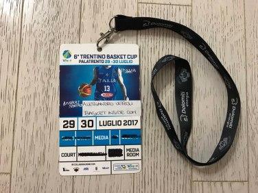 Accredito Trentino Basket Cup