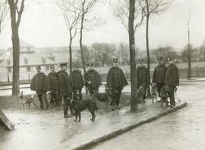 La compagnie cynophile de la Préfecture de Police 1900-1910