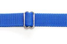 Ошейник 25 мм синий хром фастекс простой
