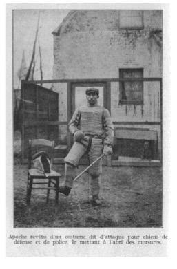 Снаряжение декоя в раннюю эпоху. (Couplet, 1931)