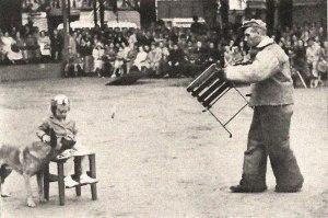 Ринг - показательные выступления в Антверпене, 1950 г. Dag van de Hond
