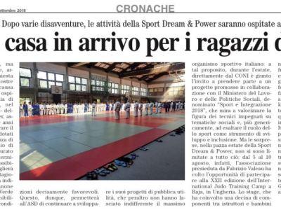 Il giornale IlCaffè parla ancora di noi!