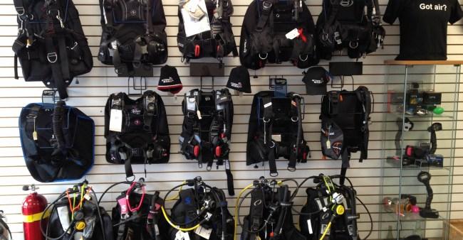Action Scuba montreal PADI Dive shop 4