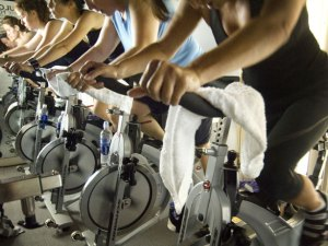 Allenamento indoor cycling