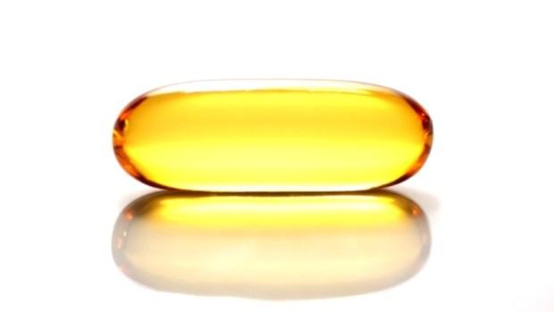 Fish oil capsule