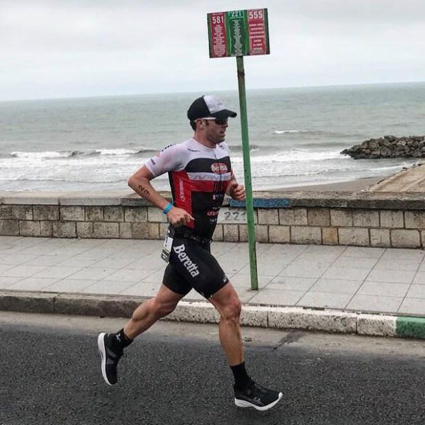Cosa provoca i crampi muscolari? Frazione run dell'Ironman Argentina 2017