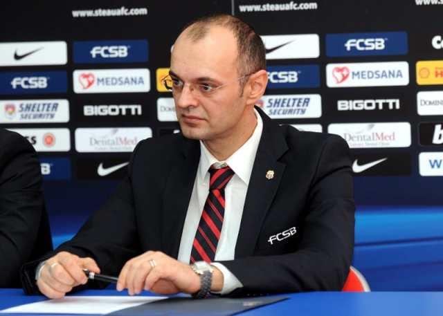 Bobby Durbac (director marketing Steaua Bucuresti).