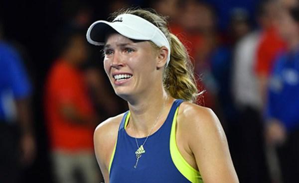 "Australian Open 2020, Wozniacki si ritira: ""Sapevo sarebbe finita così"" (VIDEO)"